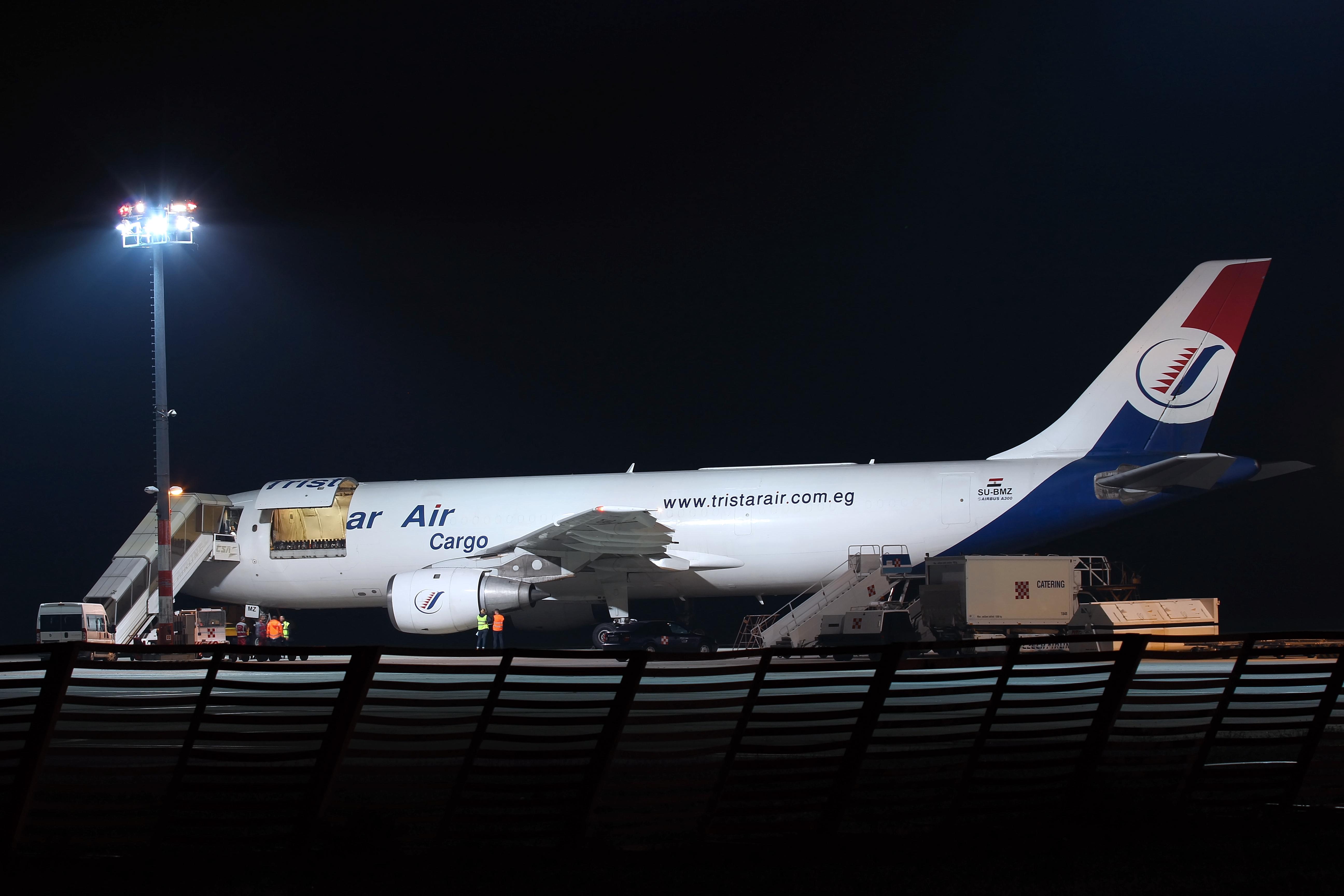 Tristar Air Cargo Airbus A300B4-203(F); SU-BMZ