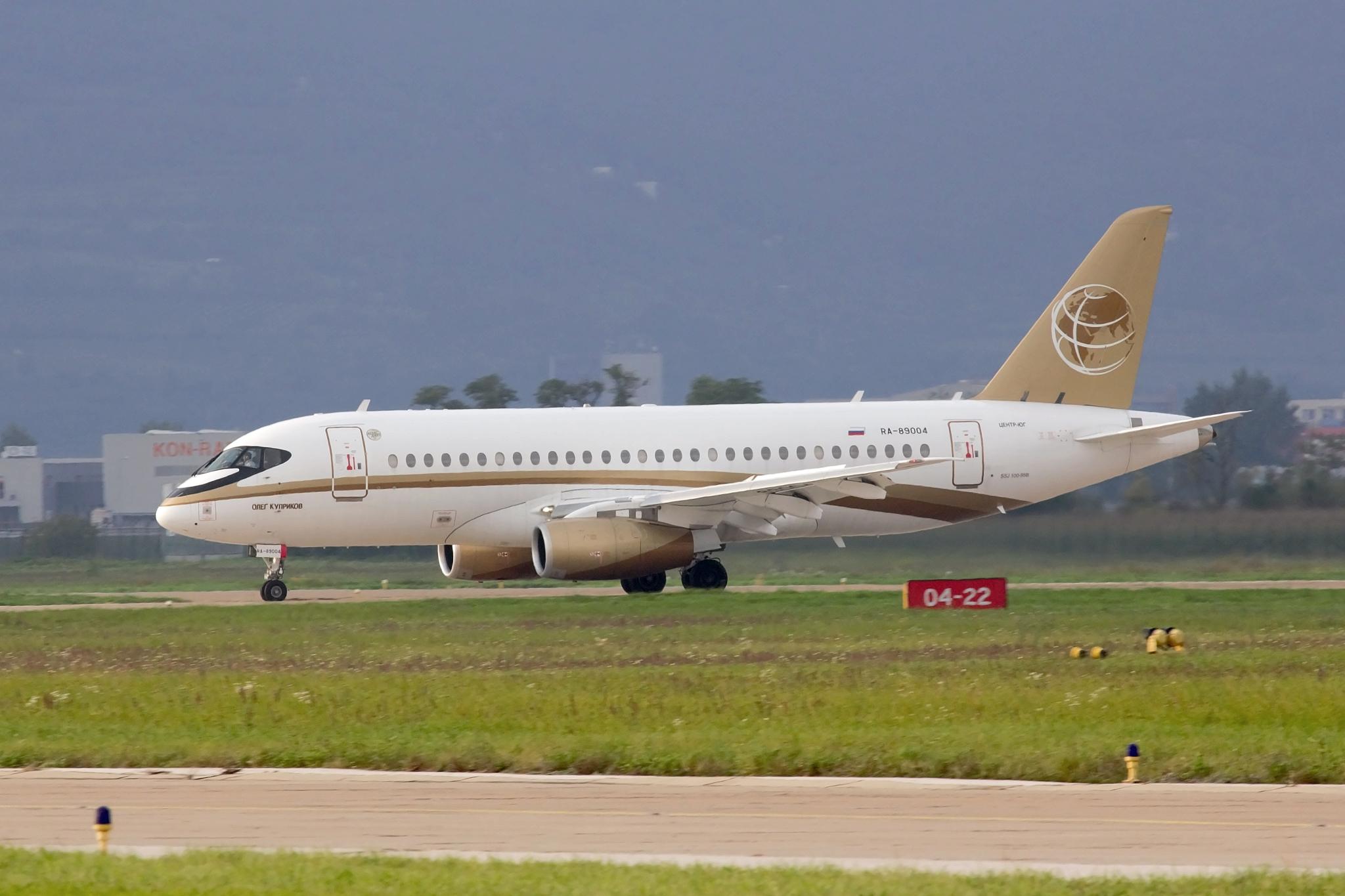 Center-South Sukhoi Superjet 100-95B; RA-89004
