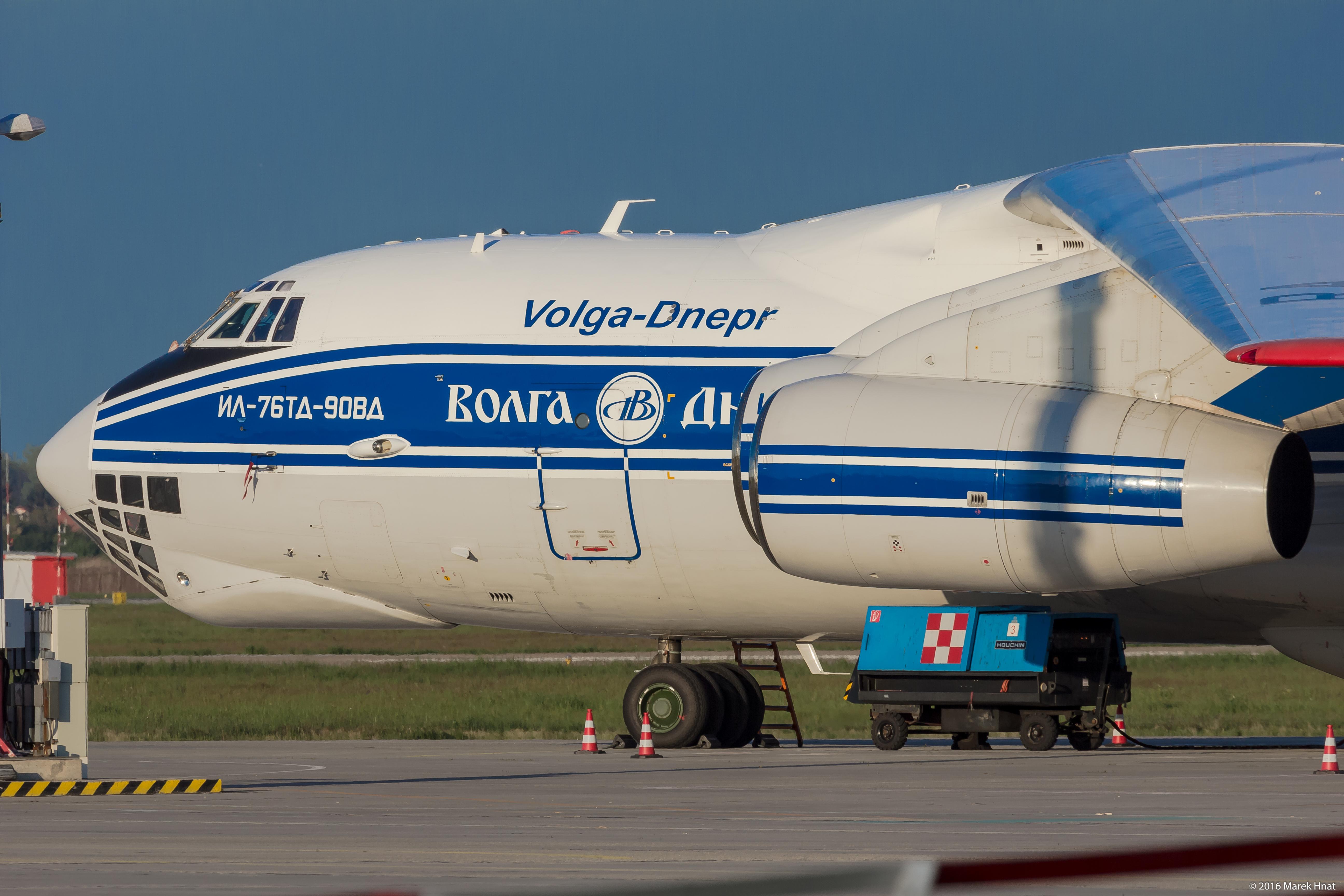 Volga-Dnepr IL-76TD-90VD; reg. RA-76511